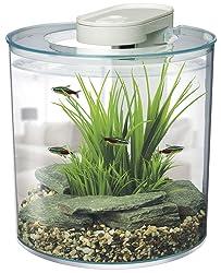 Marina 360-Degree aquarium starter kit 2.65 gallon