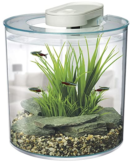 Marina 360-Degree Aquarium Starter Kit by