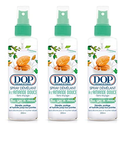 DOP Spray démêlant a la almendra dulce 200 ml – juego de 3