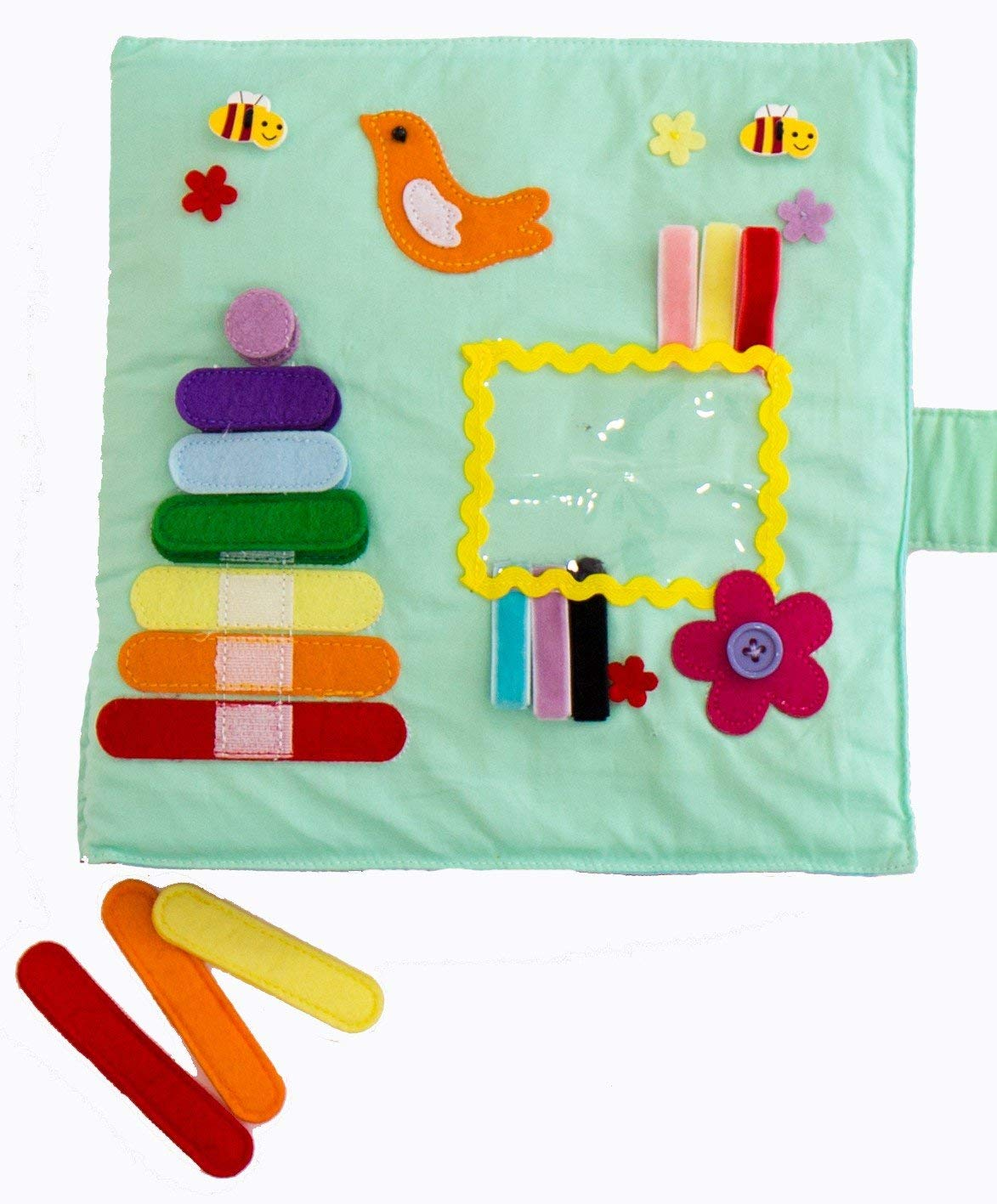 Play with Quiet Book, Educational Toy, Toddler Activity Book, Busy Book, Toy Book ZCRAFT GXFC-002