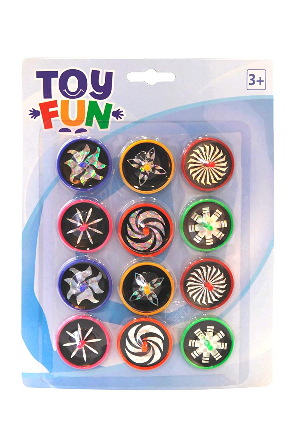 Toy Fun toupie Laser Lot de 12