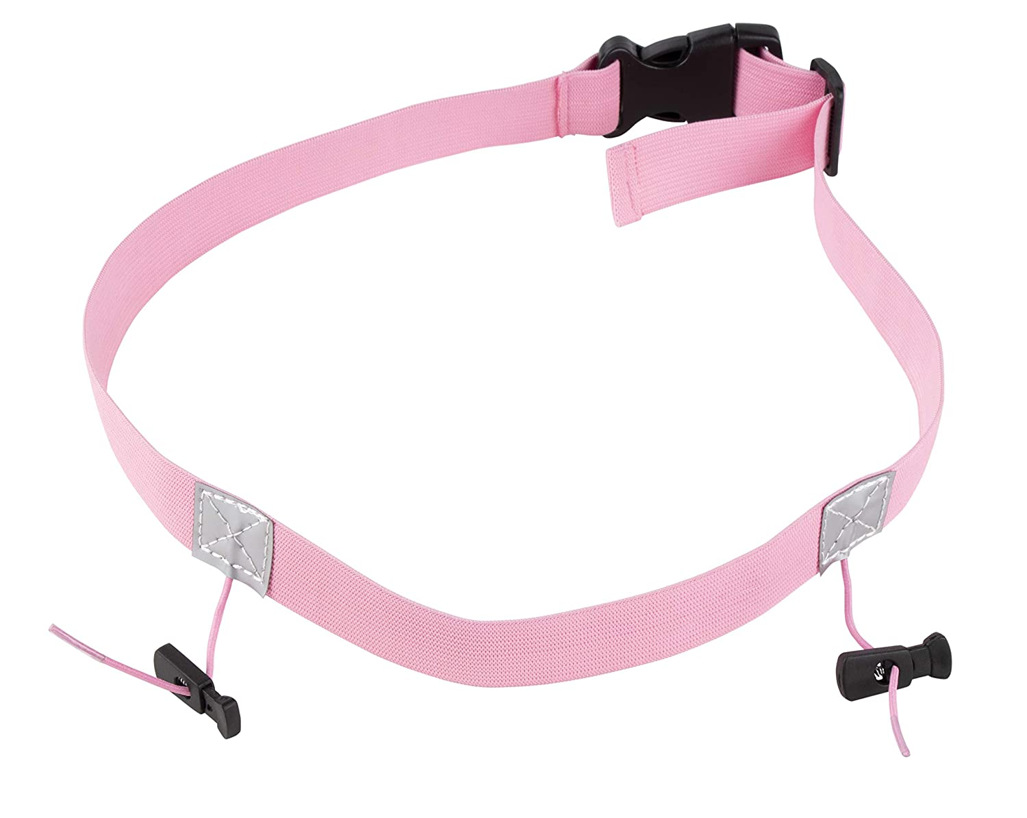 Bib Holders Pink and Blue Marathon 2-Pack Race Number Holder Racing Belt for Running Juvale Race Number Belt Cycling Triathlon 31.5 x 0.9 Inches Competitor Numbers