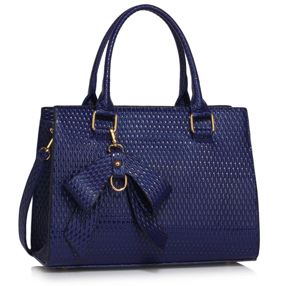 a505b6fc09e LEESUN LONDON Womens Designer Handbags Large Shoulder Bag Ladies Faux  Leather Bag Stylish Tote Bag