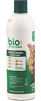Bio Spot Active Care Flea & Tick Dog Shampoo
