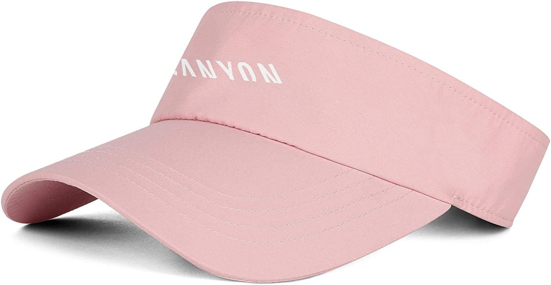 DRTGRHBFG Unisex Women Mens Visor Hat Casual Baseball Hat Adjustable Outdoor Tennis Cap