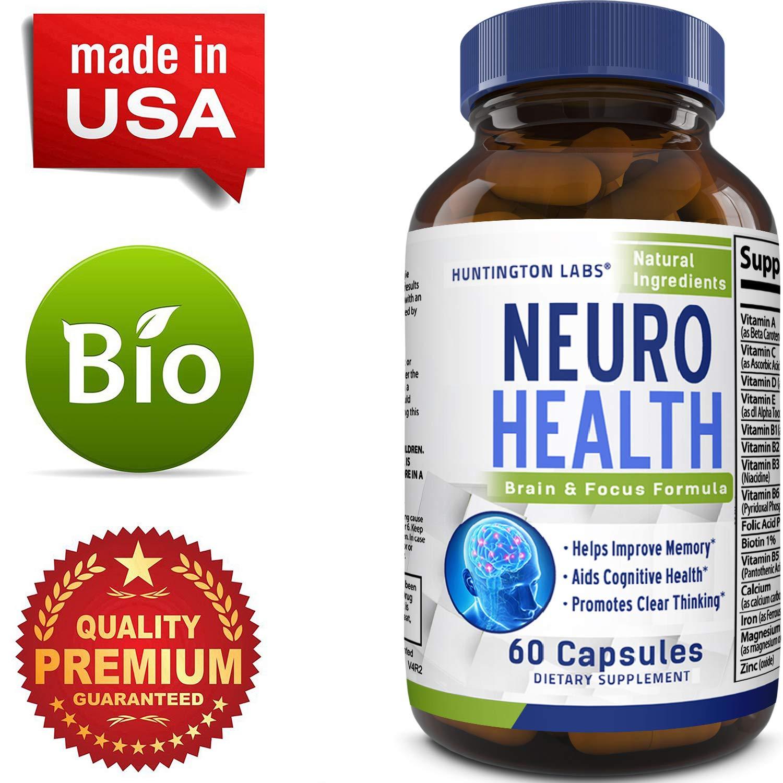 Mind Enhancing Supplement – Improve Memory Boost Brain Power Enhance Mental  Clarity – Pills with