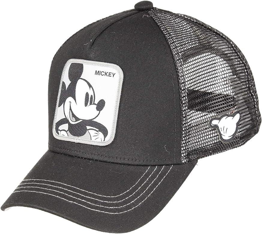 capslab - Gorra Disney Mickey Negro Hombre - Talla Unica - MIC5 ...