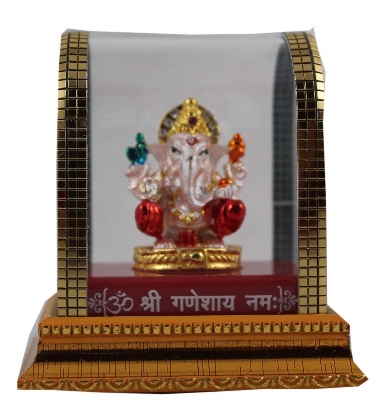 Odishabazaar Idol for car Dashboard Pooja puja Statues for Decoration multi14