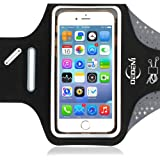 Sports Armband 5.5 Inch for iPhone 7 Plus, 6s Plus, 6 Plus, Running Exercise Workout Multifunctional Phone Case for Android Phones