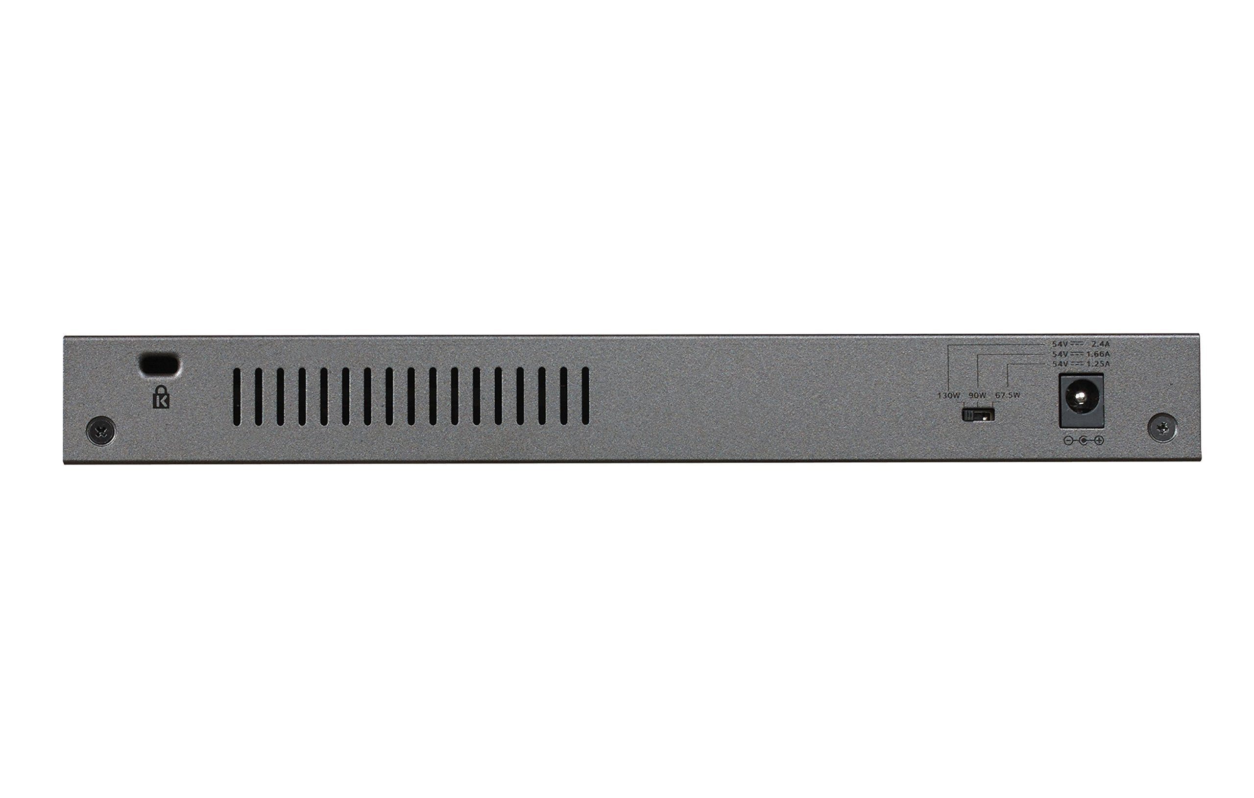 NETGEAR 8-Port Gigabit Unmanaged Switch, PoE/PoE+ 120W, Fanless, Rackmount, Plug-and-Play, ProSAFE Lifetime Protection (GS108PP) by NETGEAR (Image #4)