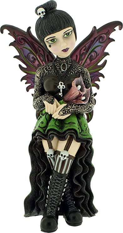 Nemesis Now Orchid - Figura Decorativa (16 cm, 21 cm), Color Verde ...