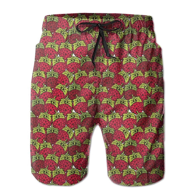 Mens Swim Shorts Vintage Retro Bigfoot Casual Sport Beach Board Short Pocket
