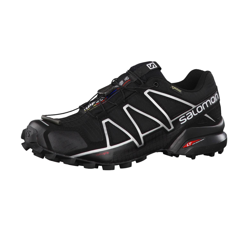 Salomon Men's Speedcross 4 GTX Black/Black/Silver Metallic-X 11.5 M