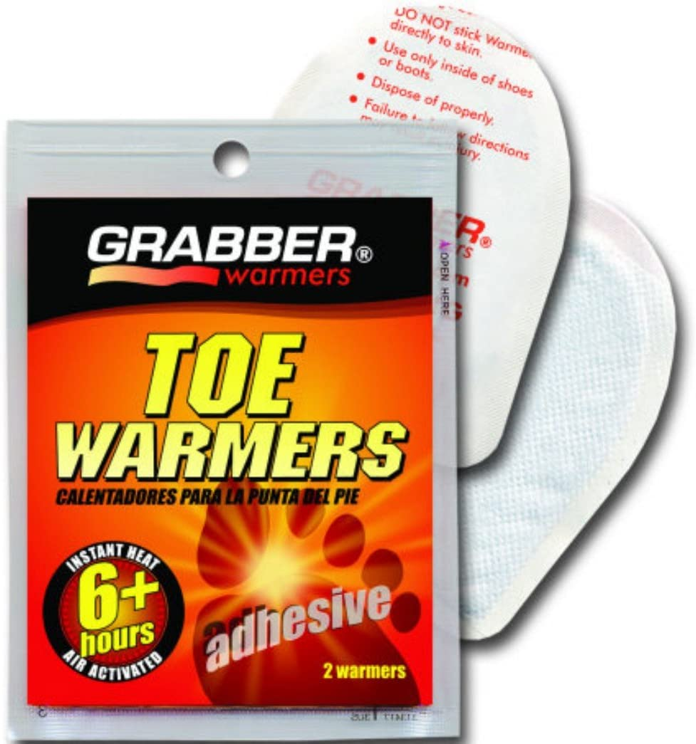 Grabber Adhesive Toe Warmers - Case of 320 Pair by GRABBER WARMERS