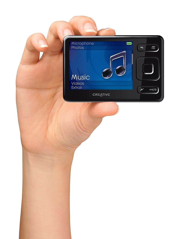 Amazon Creative Labs Zen Mx 16 Gb Mp3 Player Black Home