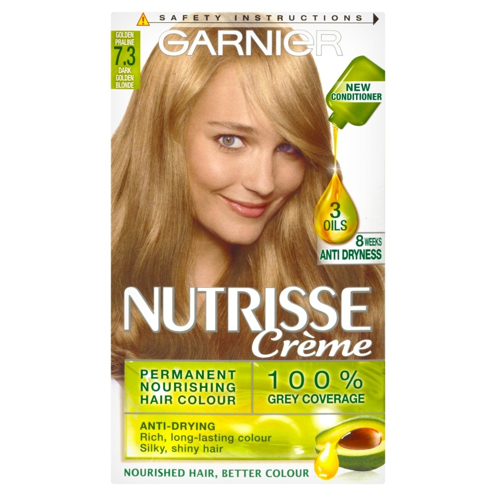 Garnier belle color 73 dark golden blonde dark brown hairs - Garnier Nutrisse 7 3 Golden Copper Permanent Hair Dye Amazon Co Uk Beauty