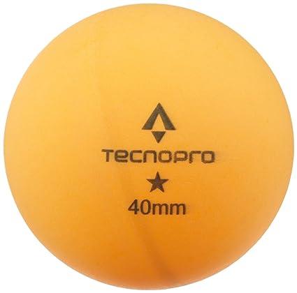 TECNOPRO 83608001002 Pelota de Tenis de Mesa 6 Pieza(s) - Pelotas de Tenis