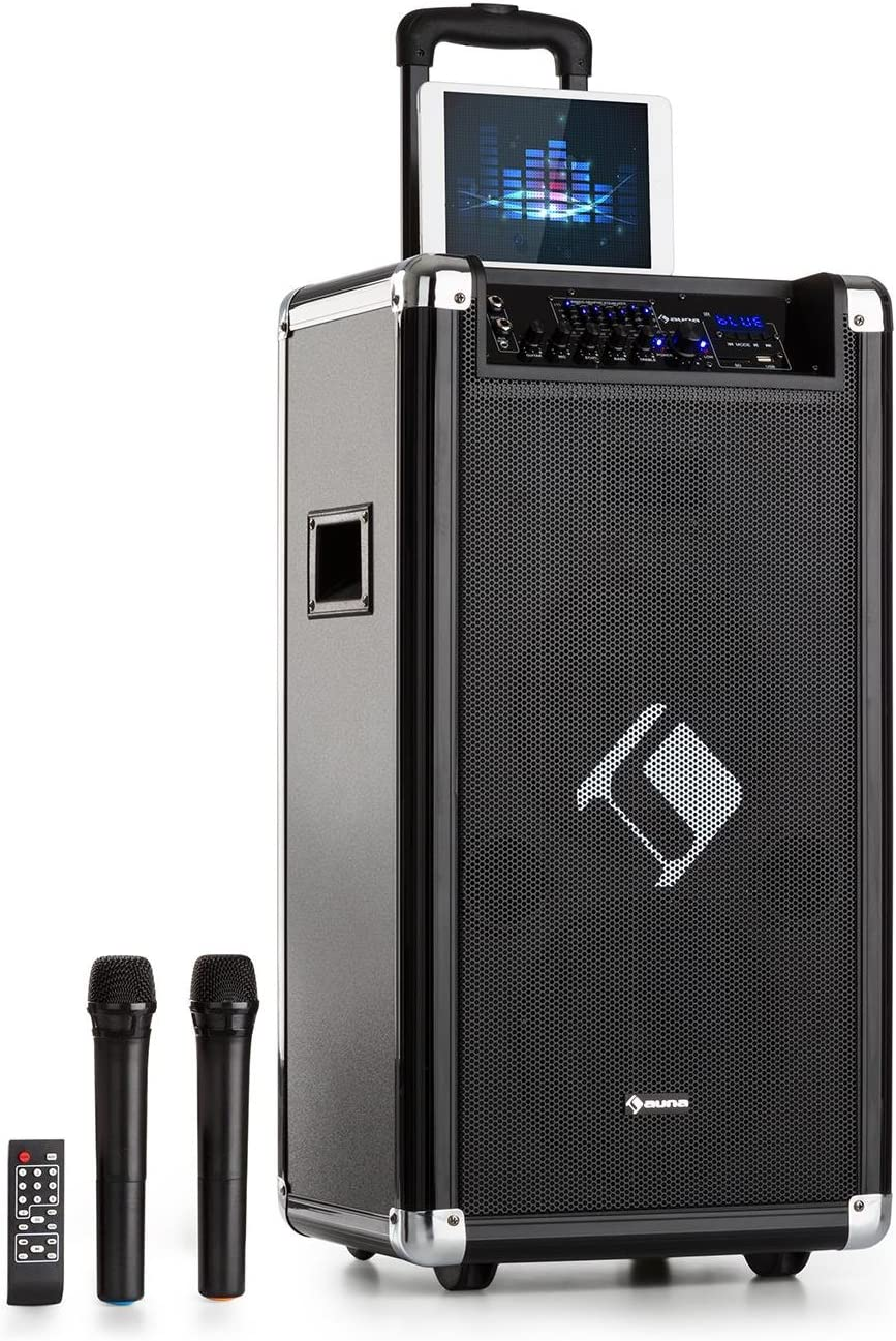 auna Moving 120 Equipo PA - 2 x subwoofer 8