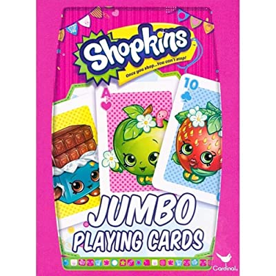 Shopkins Jumbo Playing Cards: Toys & Games