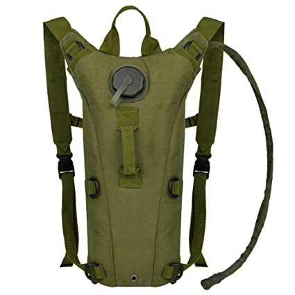 9d9080112f Bormart 3L 3 Liter 100 ounce Hydration Pack Bladder Water Bag Pouch Hiking  Climbing Hunting Running