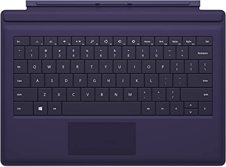 NOT WORKING.... Microsoft Surface Pro 3 Type Cover Purple Keyboard