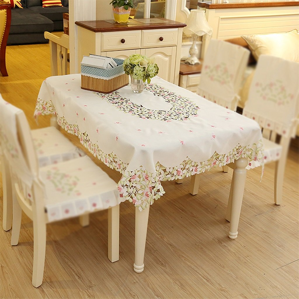 Diameter 175cm Gtt Continental simple table cloth pastoral coffee table round table rectangular table tablecloths (Size   Diameter 175cm)