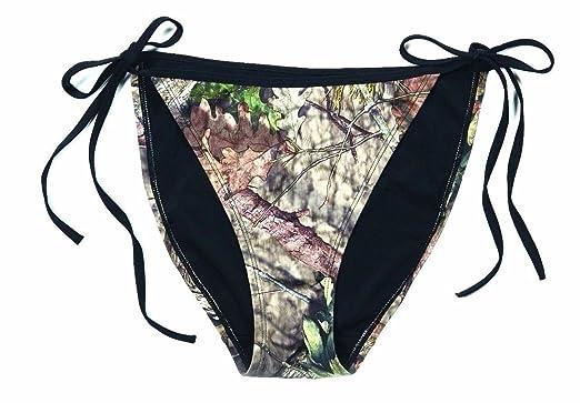 ac6d5d4ca7e35 Amazon.com: Mossy Oak Breakup Country Camo Womens String Bikini Top or  Bikini Bottom Swimwear: Clothing