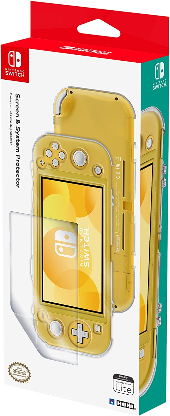 Hori - Kit de protección (Nintendo Switch Lite): Amazon.es ...