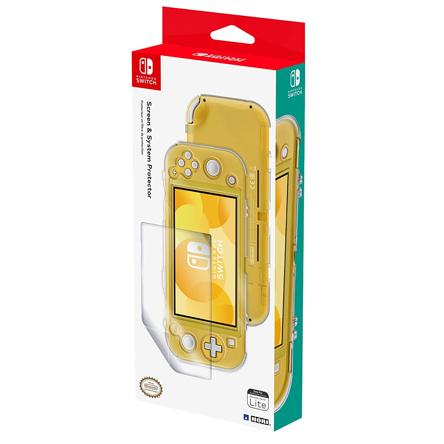 Amazon.com: Nintendo Switch Lite Screen & System Protector ...