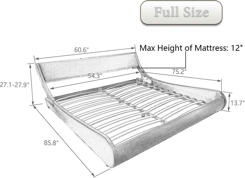 full size bed platform