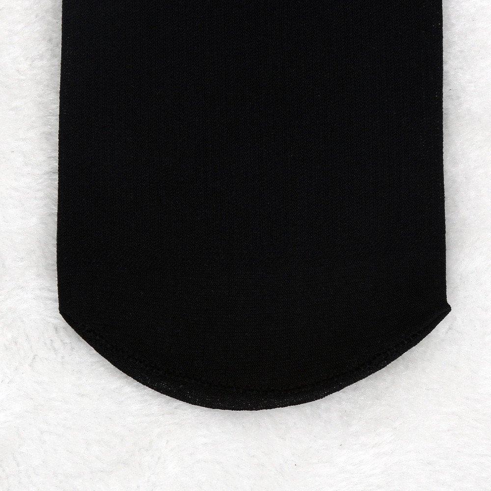 10 Pairs Men Bamboo Fiber Ultra-thin Elastic Silky Short Silk Stockings Socks By VECDUO