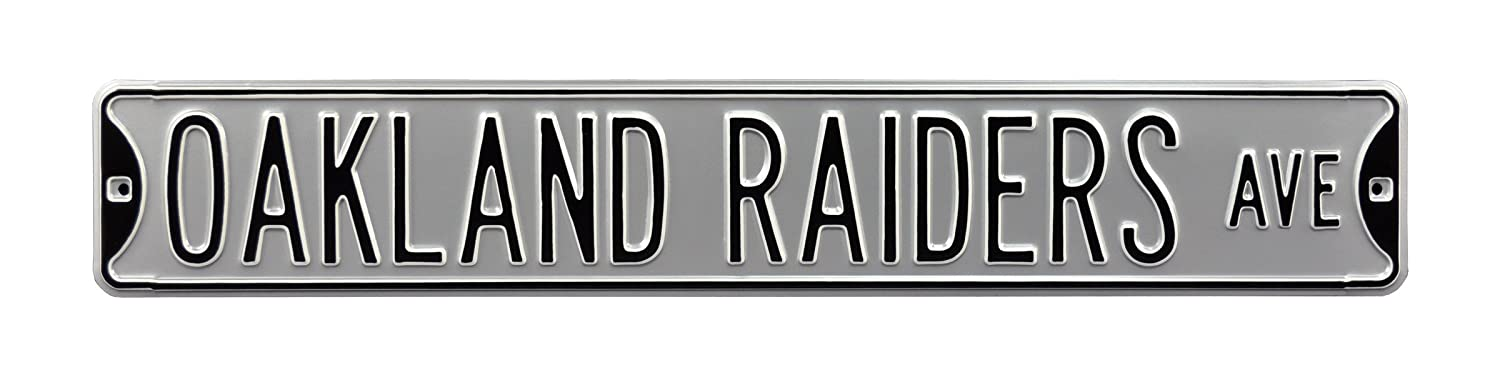 NFL Oakland raiders-銀スチールAvenue Signs、36