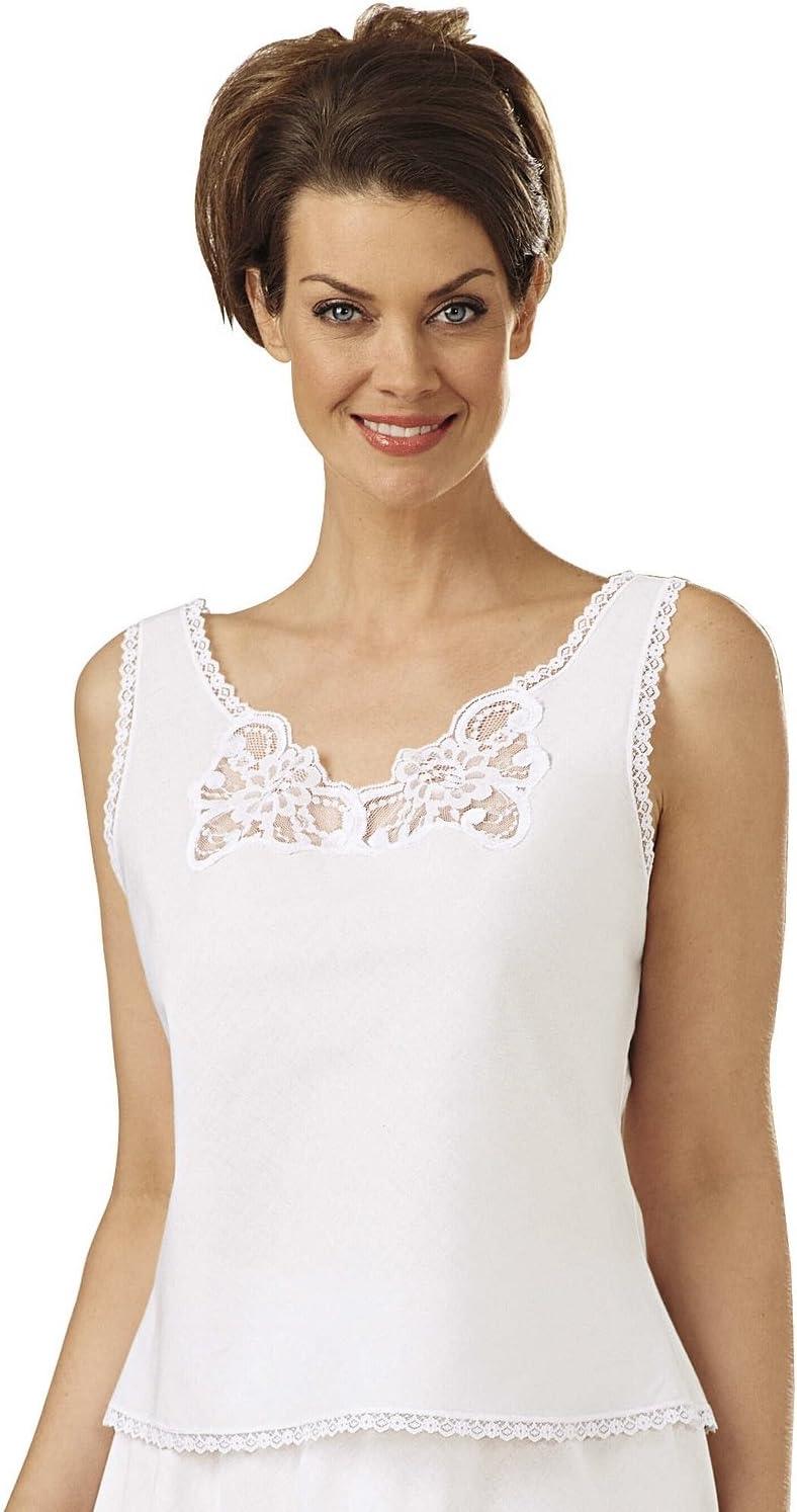 Velrose Batiste Camisole, White, 48