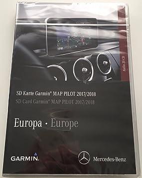 Tarjeta SD GPS Mercedes (Star1) Garmin Map Pilot Europe 2017/2018 V9 a2189061903: Amazon.es: Electrónica