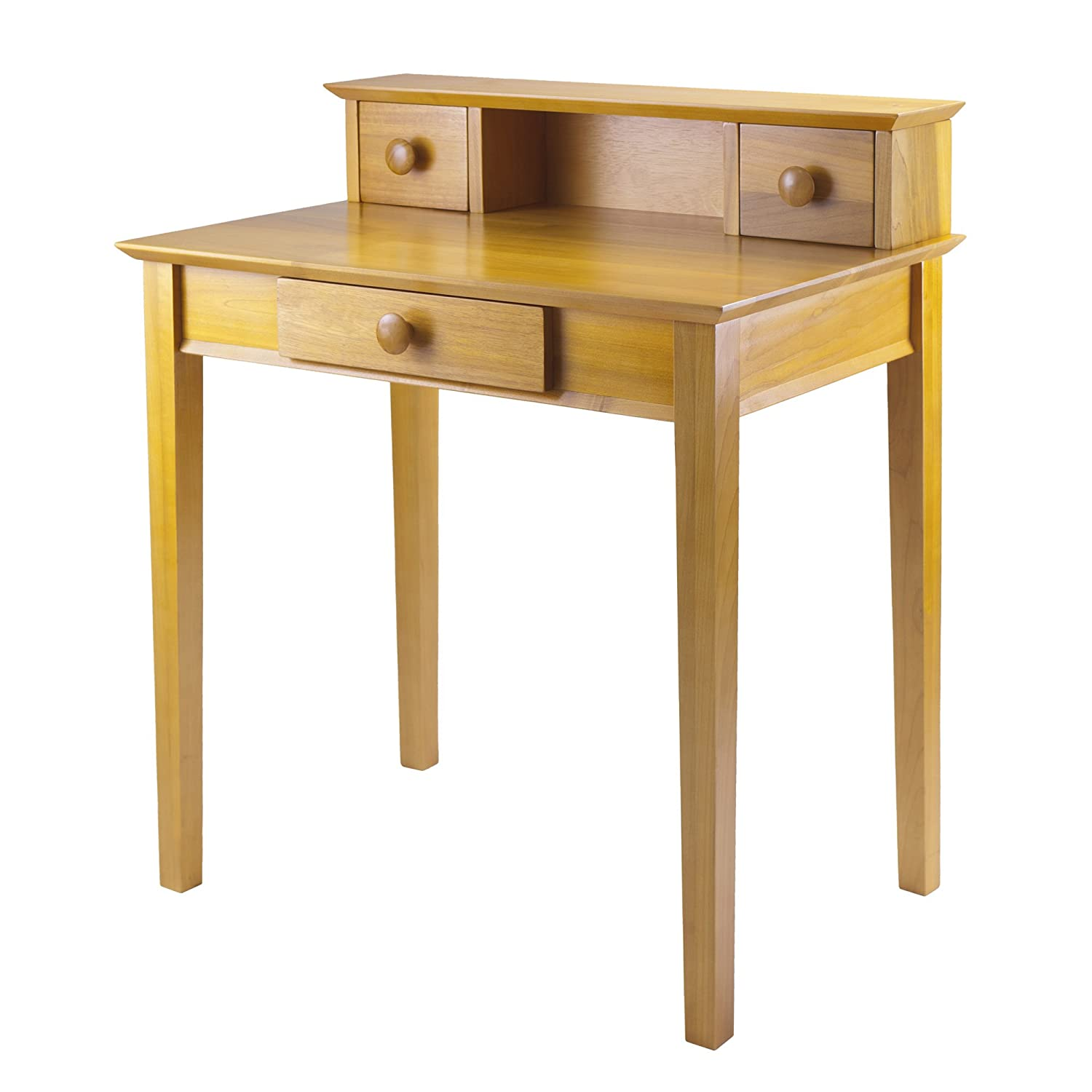 Winsome Wood Writing Desk, Honey 99333 WN1053