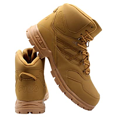 Fila Mens Pro Strap Boot - Black/Wheat Tan   Hiking Boots [3Bkhe2007023]
