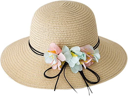 Children/'s High Quality Fedora Hat Summer Sun Hat for Kids Toddler/'s Straw Hat