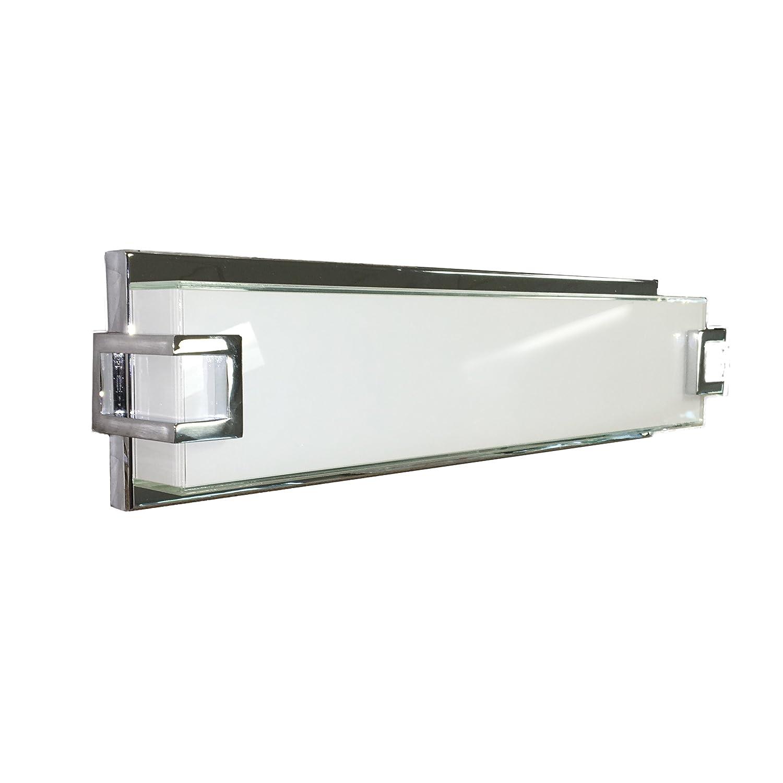 アクセス照明W LEDバスバー、オパールガラスシェード 18