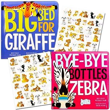 Amazon.com: Hello Genius Junta Libros Set Baby bebé – -2 ...