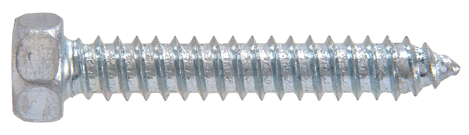 30-Pack The Hillman Group The Hillman Group 1012 Zinc Hex Head Sheet Metal Screw 10 x 3//4 In