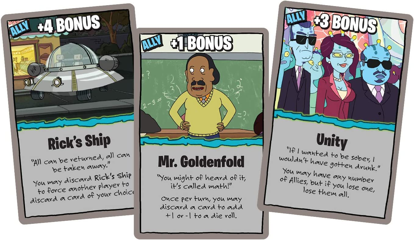 Rick and Morty Munchkin Board Game Review