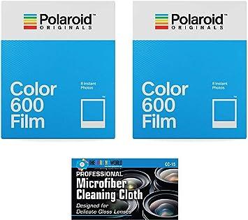 Película de color instantánea Polaroid Originales Para 600 Blanco 4670