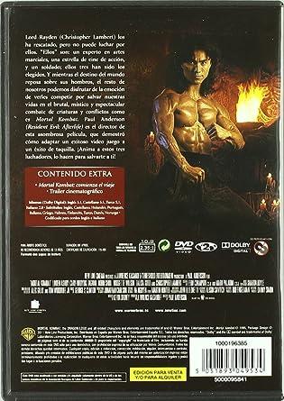 Amazon.com: Mortal Kombat (Import Movie) (European Format ...