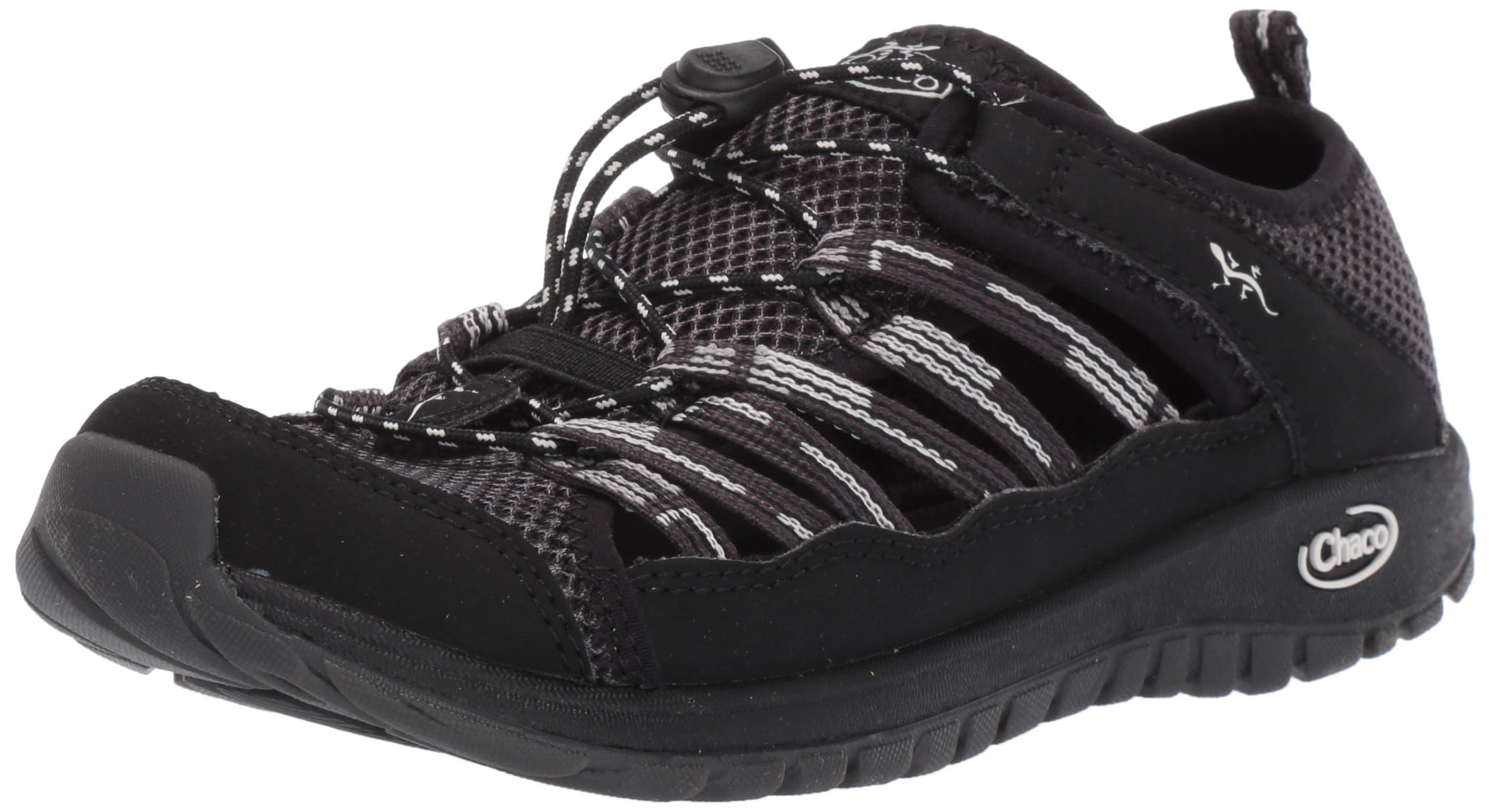 Chaco Outcross 2 Kids Hiking Shoe, Black, 10.0 M US Toddler by Chaco