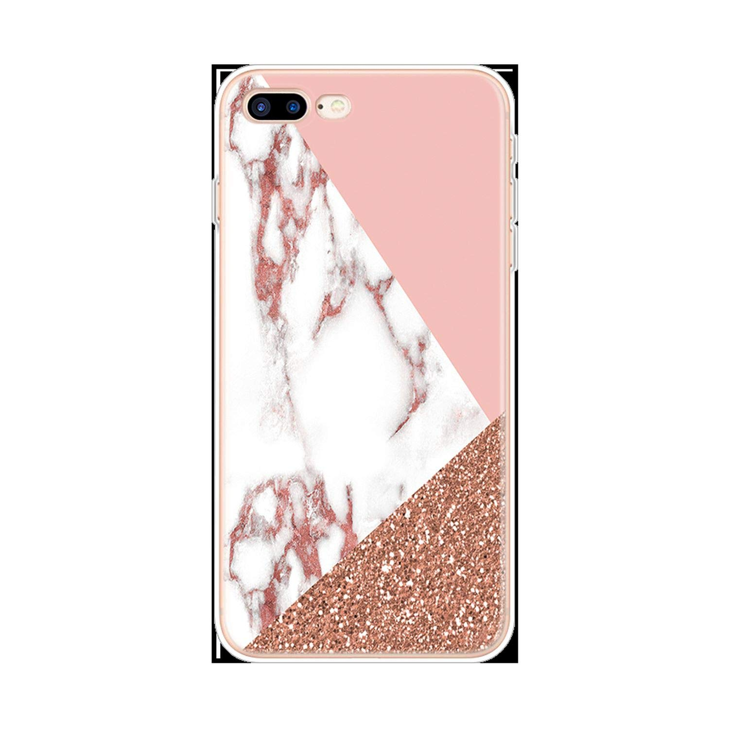 Amazon.com: Transparent Original Luxury Marble Case for ...