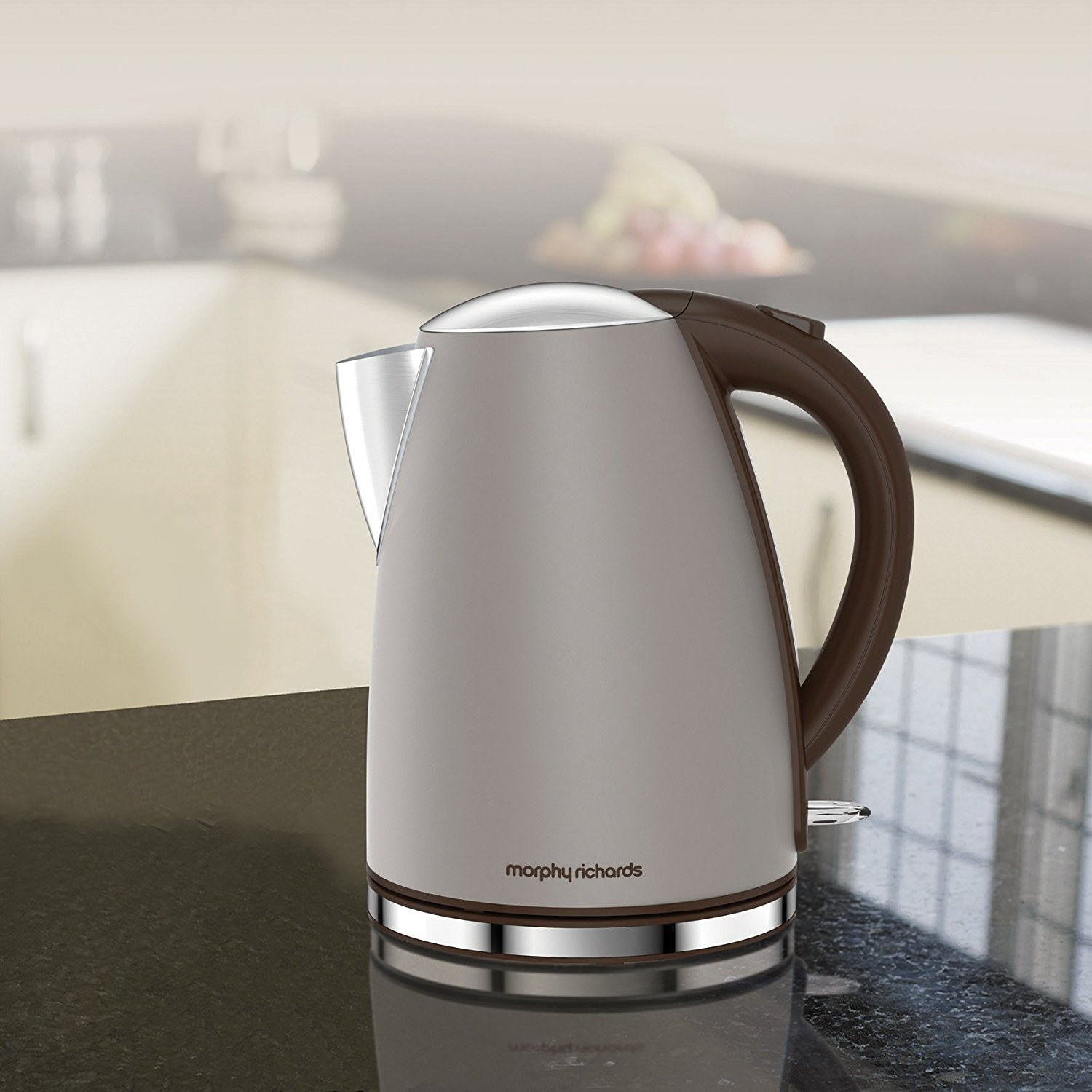 5l accents range only electricals co uk small kitchen appliances - Morphy Richards Accents Pebble Electric Hot Boiling Water Kettle Jug 2 Slice Toaster Kitchen Set Amazon Co Uk Kitchen Home