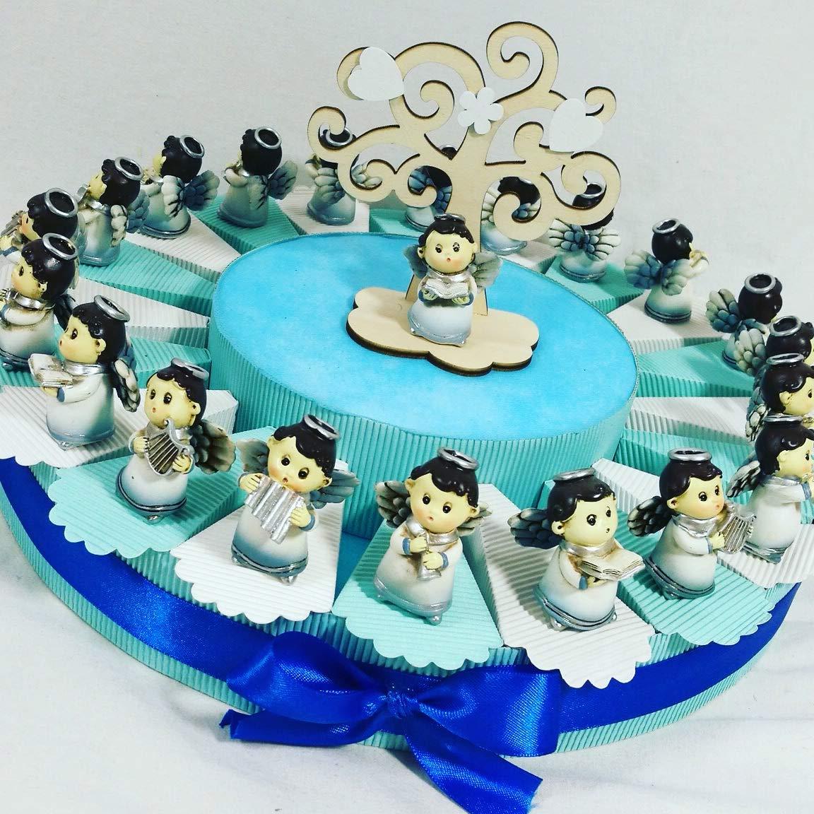 Torta Bonboniere für Taufe, Taufe, Kommunion, Taufe, Kommunion