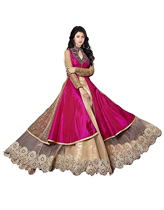anarkali suits for women readymade Dress Material at amazon