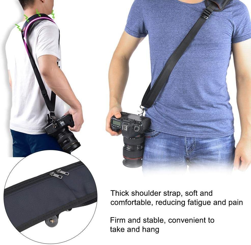 Mugast Camera Shoulder Strap Portable and Adjustable Camera Neck Shoulder Belt Strap for Canon Nikon Sony DSLR