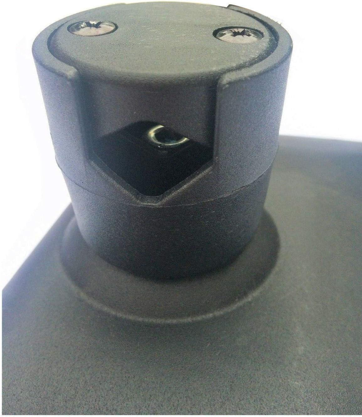2x Au/ßenspiegel R/ückspiegel 250x160 /ø14-23mm LKW Bagger Spiegelarm Spiegelhalter B/ügel SET